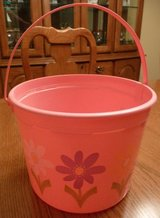 Pretty in Pink Plastic Bucket in Plainfield, Illinois