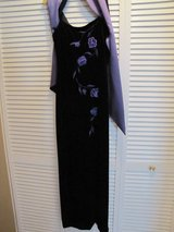 Formal dress and shawl sz 6 in Sandwich, Illinois