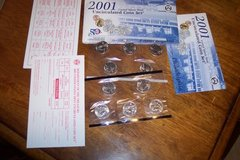 2001 Uncirculated Mint Set P&D State Quarters only in Camp Lejeune, North Carolina