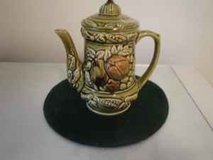 old porcelain fruited vintage teapot in Tomball, Texas