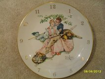 REDUCED - Norman Rockwell Clock by Gorham 1955 WORKS!! in Sandwich, Illinois